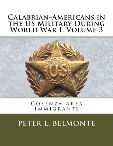Calabrian Americans in the US Military During World War I, Volume 3: Cosenza-Area Immigrants ebook