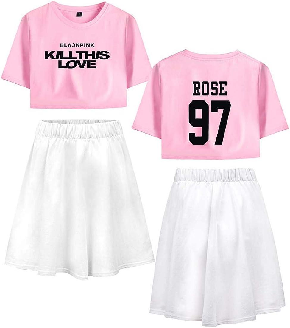 Flyself KPOP Blackpink Camiseta y Falda Set Kill This Love ...