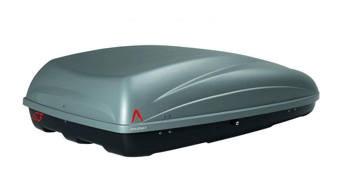 G3 g322204 Box da Tetto Krono 400, 330 Litri, Grigio Chiaro G3 spa