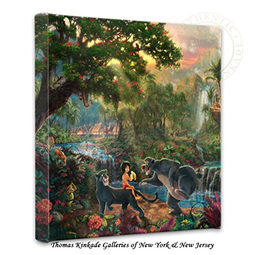 Thomas Kinkade Jungle Book Gallery Wrap Canvas