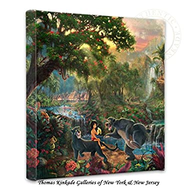 Thomas Kinkade Jungle Book Gallery Wrap Canvas
