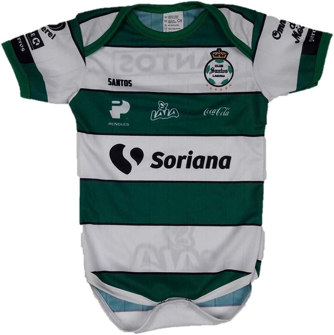 Club Santos Laguna Baby Jersey Baby Jumpsuit Bodysuit Futbol Liga MX
