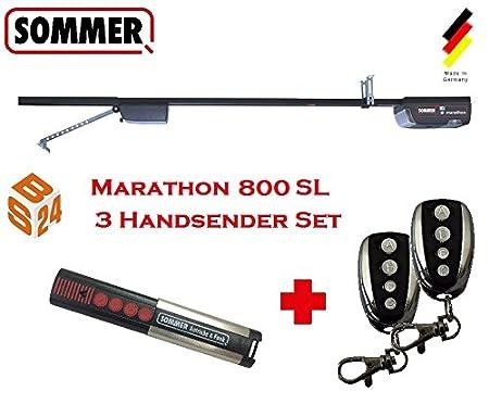 Sommer Marathon 800 SL Set Of 3 Garage Door Drive With Rail And 3x U2013 Door