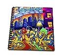 Spiritual Awakeningsグラフィティアート–グラフィティCity Art BuildingsグラフィティWriting–Drawing Book 12x12 memory book db_128902_2