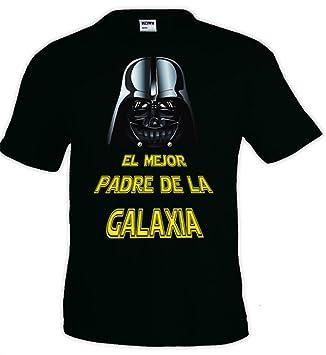 Calledelregalo Camiseta Personalizada 'Superpadre' Negra EN Todas Las Tallas - Regalo Para el Día del Padre E31CNQc