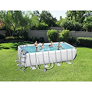 Kit piscina rectangular Power Steel Frame