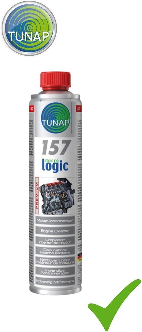 Tunap Micrologic Premium 157 Motor Innenreiniger Motor Reiniger Innen 400 Ml Auto