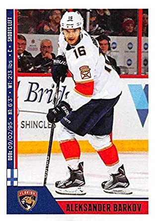 2018-19 Panini NHL Stickers Collection  101 Aleksander Barkov Florida  Panthers Official Hockey Sticker b43b825f9