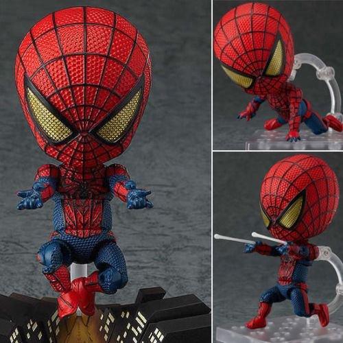 "New 4""Hero's Edition Nendoroid Series Avengers Spider-Man Ac"