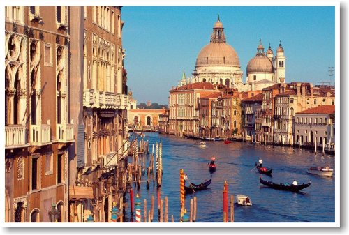 Grand Canal - Venice Italy - NEW World Travel Poster