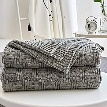 Throw Blankets For Couches Interesting Amazon Soft 60% Cotton Throw Blanket For Couch Sofa Bed Red 60