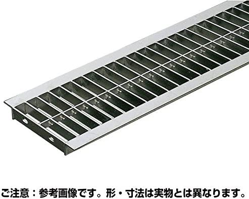 U字溝用溝幅240mm 標準並目溝蓋ステンレスグレーチング 内幅230×長さ994×高さ20ミリ オーダーメイド品 納期約10営業日 キャンセル不可 返品不可