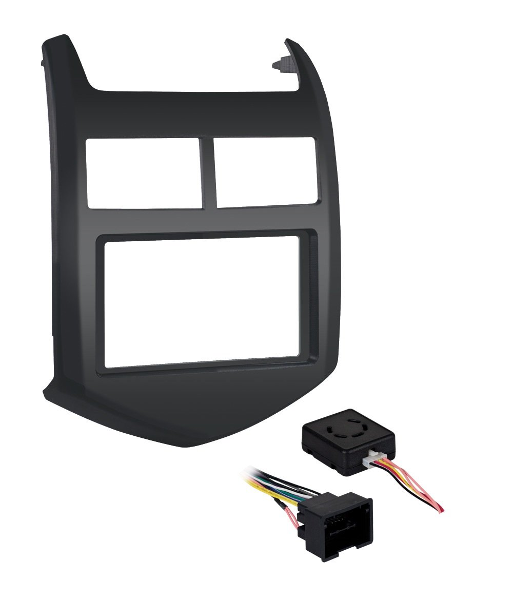 Metra 99-3012G-LC Single/Double DIN Dash Installation Kit for 2012-Up Chevy Sonic Vehicles