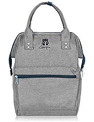 Bagsmith Multi-Function Laptop Backpack, Diaper Bag,Nappy Bag,Travel Backpack, School Backpack, Rucksack,Lightweight...