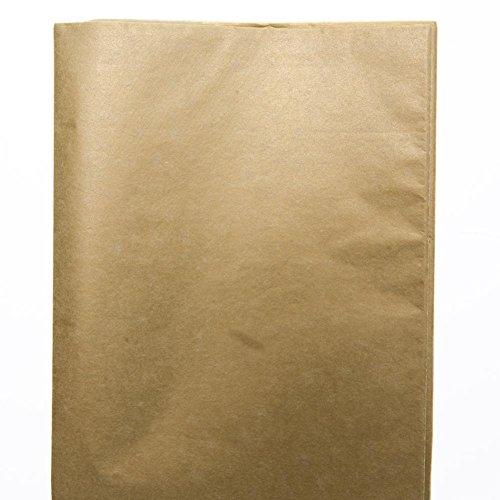 Metallic Gold Tissue Sheets