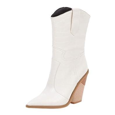 Pluie Femme Bottes LINSINCH Chaussures Pas Cher de Bottines FTl1JKc