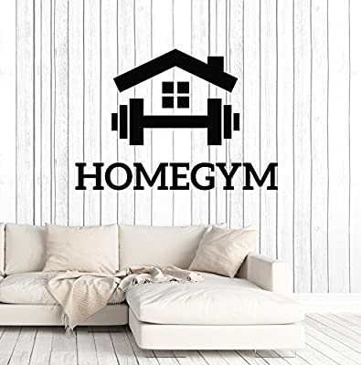 Large Vinyl Wall Decal Home Gym Fitness Motivation Sports Room Art Decor Stickers Mural (ig5118)