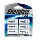 Electronics : Energizer 123 Lithium Battery, 6-Count