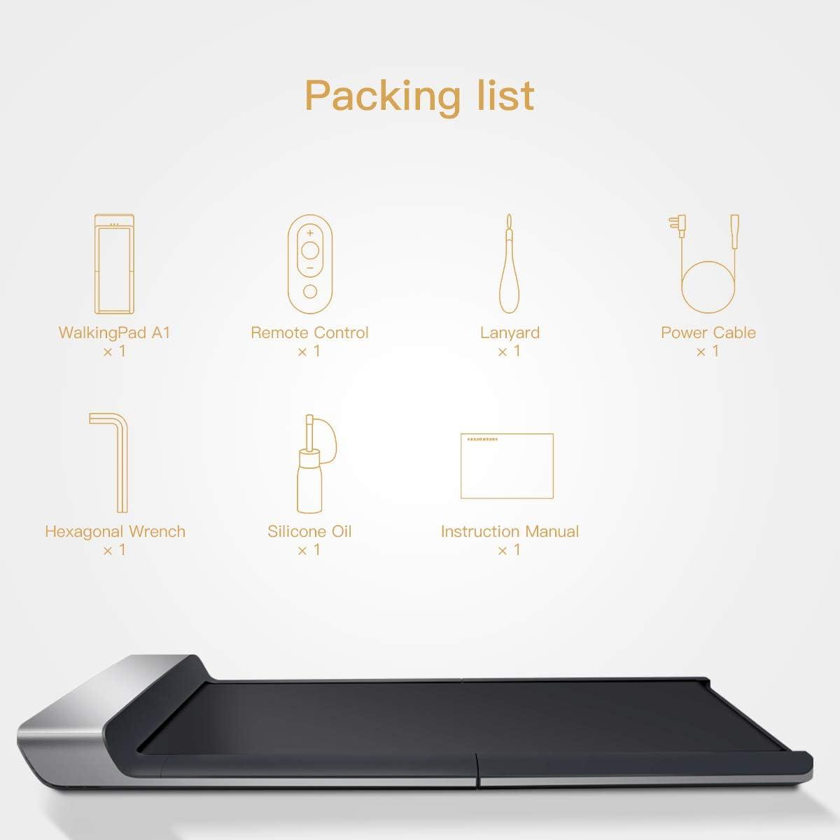 Walkingpad P1 Smart Walk Cinta de Correr Plegable – Slim Plegable ...
