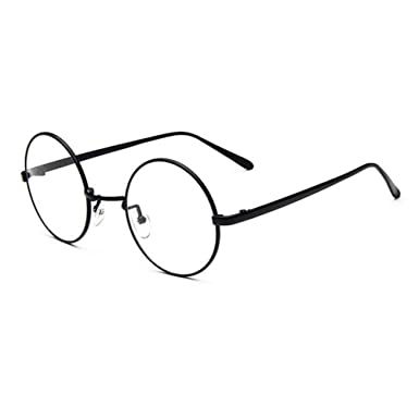 810ef50a98f Xinvision Vintage Metal Round Frame Short Sight Eyewear Retro Style Nearsighted  Myopia Glasses CR-39