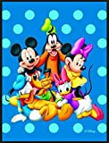 Huge 133x200 Cms Disney Mickey and Pals Non-slip Area Rug