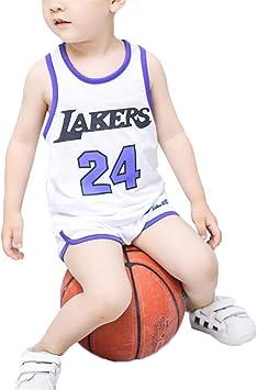 FILWS Jersey De Baloncesto para Niños Traje Niño Jersey De Verano ...