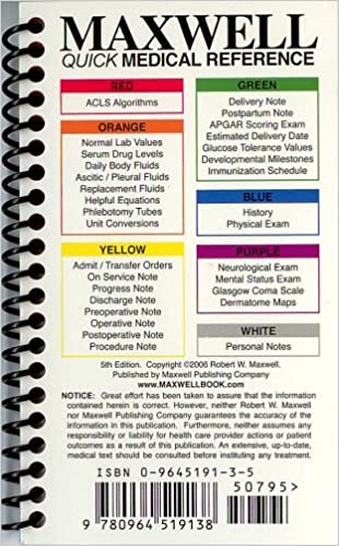 MAXWELL QUICK MEDICAL REFERENCE EPUB DOWNLOAD