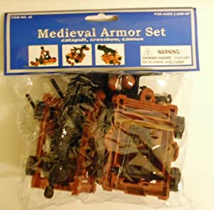 Amazon Com Medieval Armor Set Catapult Crossbow Cannon