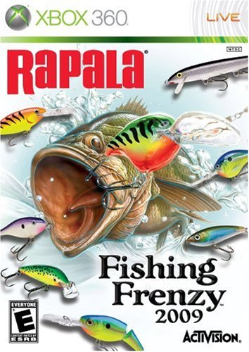 Rapala Fishing Frenzy - Xbox 360 (Rapala Trophies)