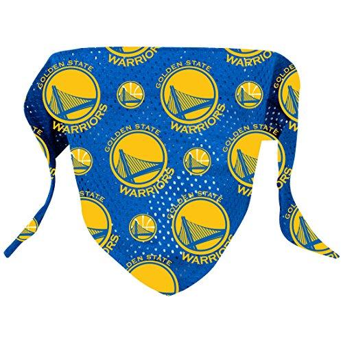 Warriors Mascot Costume - Hunter NBA Golden State Warriors Pattern Bandana for Pets,  Small/Medium