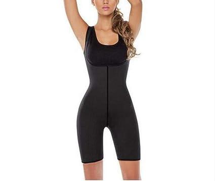 82fe28890d5a7 Amazon.com  Woman Slim Underwear One Piece Bodysuit Shapewear Lady  Underbust Body Shapers S M L XL 3XL Lingerie Plus Size Waist Trainer   Clothing