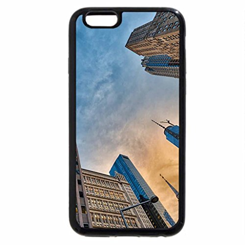 iPhone 6S / iPhone 6 Case (Black) low angle view of manhattan skysctapers hdr