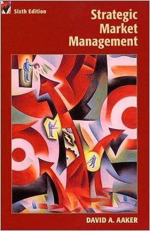 Strategic Market Management 9780471415725