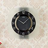 Wall Clock modern Quartz quiet decoration not refined of health in Arab figures-a 12inch