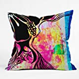 Deny Designs Sophia Buddenhagen Dream Hawaii Throw Pillow, 16 x 16