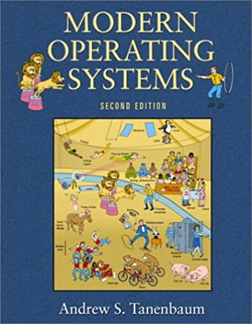 modern operating systems 2nd edition goal series andrew s rh amazon com