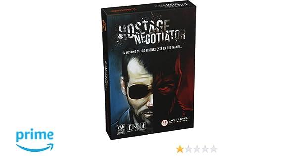 Van Ryder Games Hostage Negotiator - EL NEGOCIADOR (Castellano): Amazon.es: Juguetes y juegos
