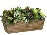 Classic Home and Garden Wood Window Box