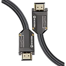 4K HDMI Cable / HDMI Cord 6ft - Ultra HD 4K Ready HDMI 2.0 (4K@60Hz 4:4:4) - High Speed 18Gbps - 28AWG Braided Cord-Ethernet /3D / HDR / ARC / CEC / HDCP 2.2 / CL3 - Xbox PS4 PC HDTV by Farstrider