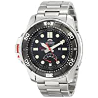 Orient Men's SEL06001D0 M-Force Beast Silver-Tone Watch