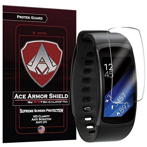 Ace Armorshield Compatible Samsung Galaxy Gear Fit 2 Pro Screen Protector (6 Pack)