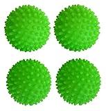 Set of 4 Black Duck Brand Green - Reusable Dryer Balls Replace...