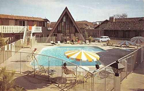 Thousand Oaks California Hyatt Lodge Pool View Vintage Postcard K101455