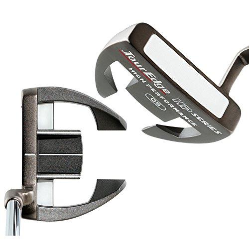 Tour Edge Golf Men s HP Series Nickel 05 Putter, Right Hand, Black