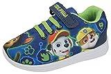 Nickelodeon Boys Paw Patrol Trainers Code Paw Blue/Green 8 UK Child