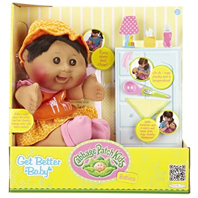 Cabbage Patch Kids Get Better Baby Hispanic Black Hair Girl 125 by Cabbage Patch Kids