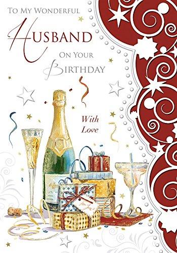 Biglietto Di Auguri Di Compleanno Per Marito Regali Bottiglia Di