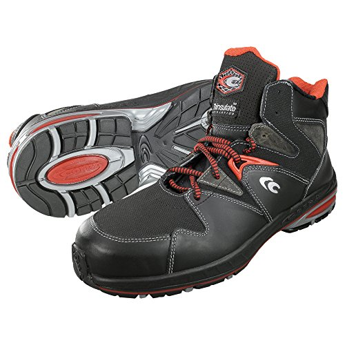 Cofra 40-19150000-45 - Zapatos de alta seguridad Perfect Game S3 Ci Src 19150-000, tamaño 45