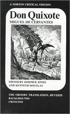 Don Quixote (Norton Critical Editions)