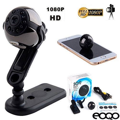 Eoqo SQ9 8GB Full HD 1080P Indoor/Outdoor Micro Mini Spy Camera - Sport Portable Handheld Mini Hidden Spy Camera with Infrared Night Vision